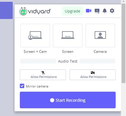 Vidyard Screen Recorder