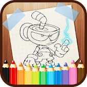 Cup Hero Coloring Game - Drawings To Paint 🎨