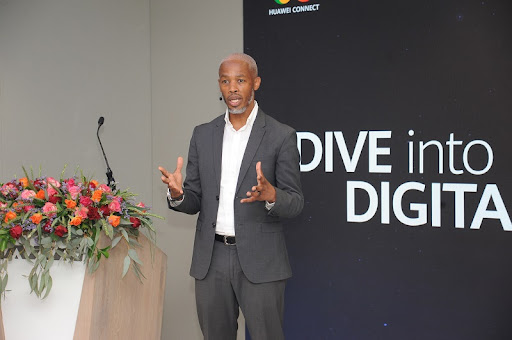 Vice President of Huawei Cloud Southern Africa, Michael Langeveld.