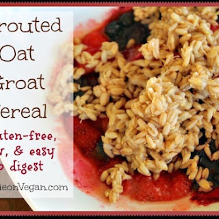 Sprouted Oat Groat Cereal Recipe