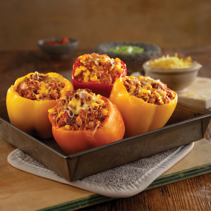 Tex-Mex Stuffed Peppers Recipe