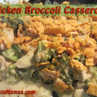 A Deliciously Easy Chicken Casserole.