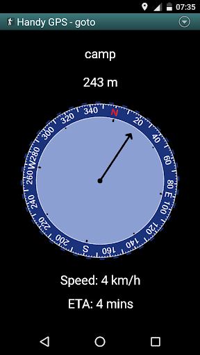 Handy GPS (free) 27.7 screenshots 2
