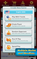 Screenshot of SCRABBLE