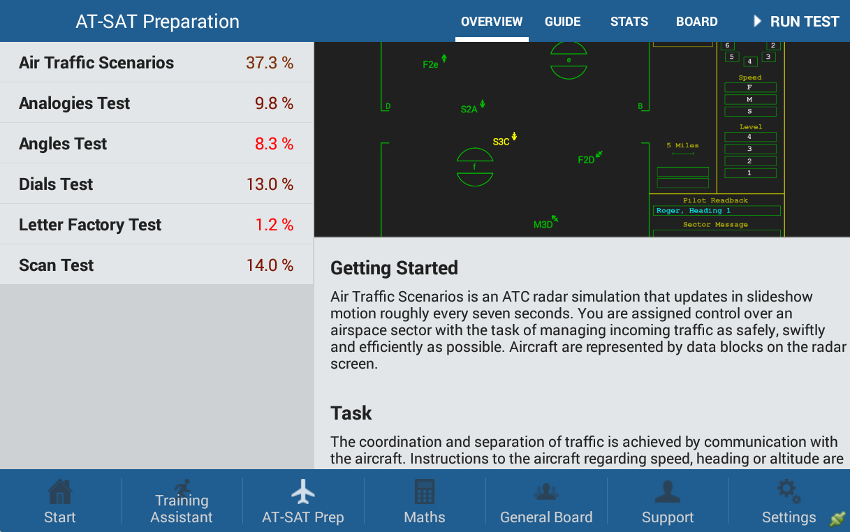 ATCPrep.com™ – ATSA / AT-SAT Preparation App- screenshot