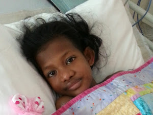 Celestina recovering after heart surgery at the RCH Melb