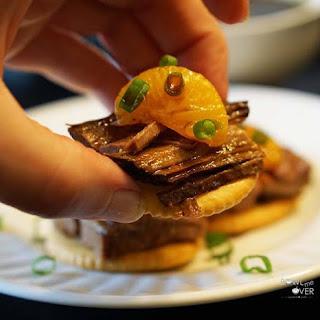Marmalade Roast Beef Bites Slow Cooker.