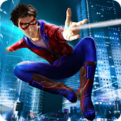 Flying Spider Boy: Superhero Training Academy Game