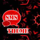 Rouge Noir GO SMS Theme icon