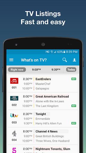 TV-Guide UK (free) screenshot 1