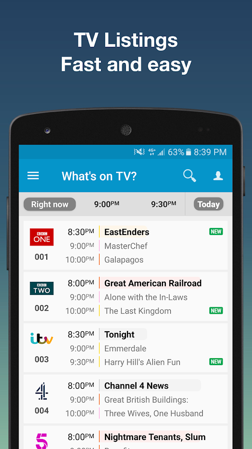 Tv24.co.uk - TV Guide UK- screenshot