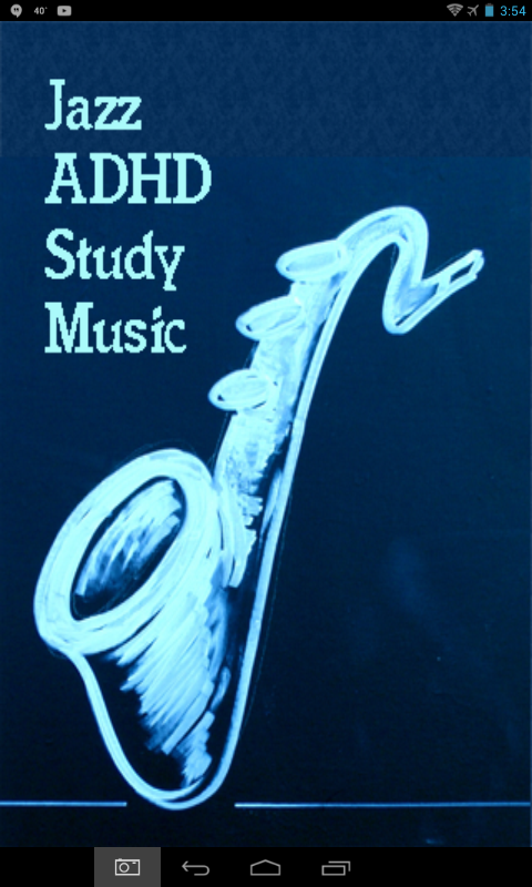 ADHD Study Music Smooth Jazz- screenshot