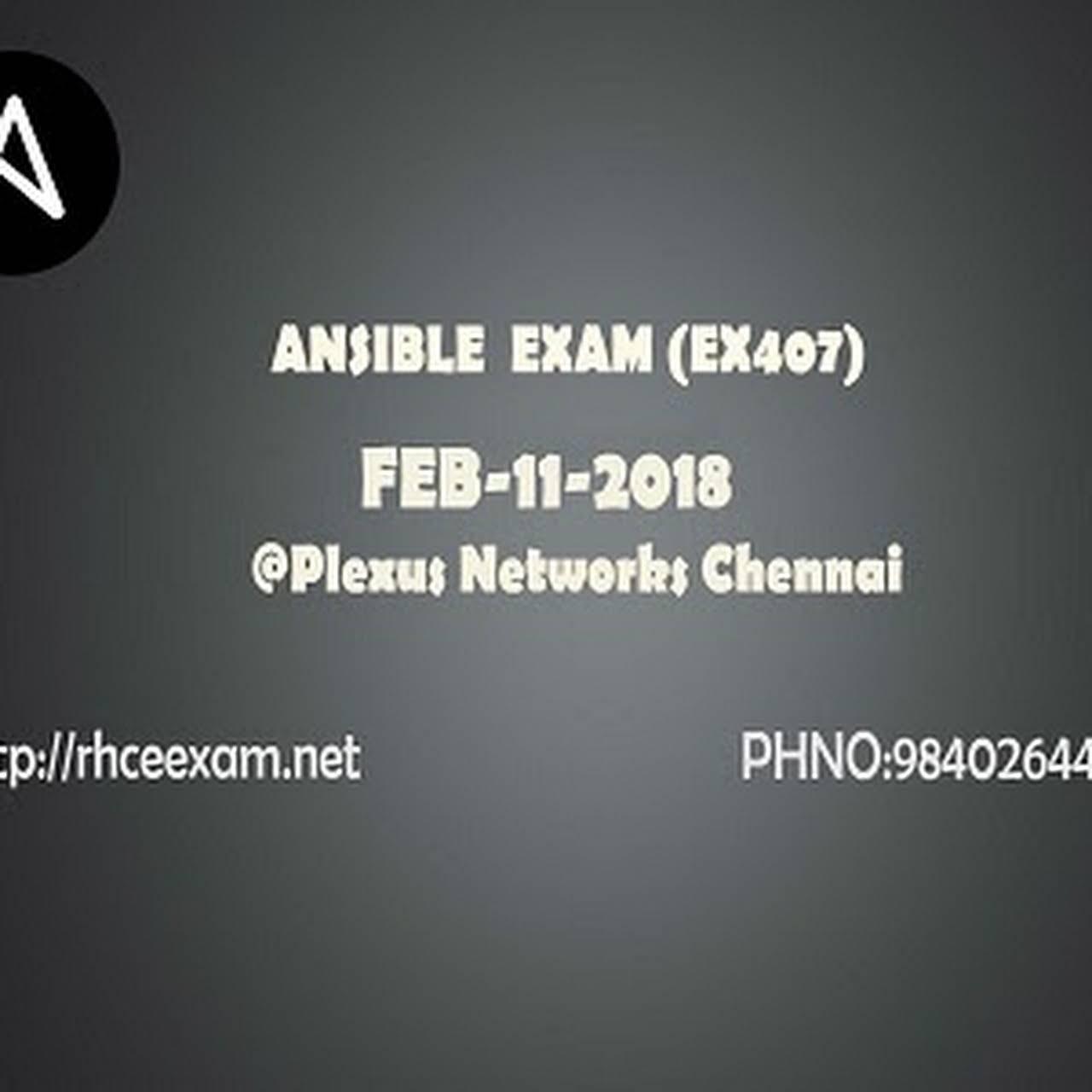 RHCE Exam Chennai - Training Centre in Chennai