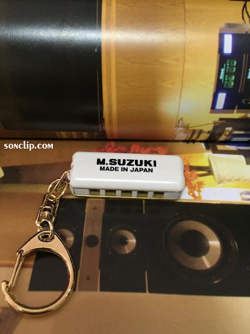 Kèn Harmonica Mini - Suzuki Minore White