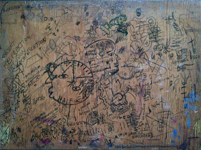 Photo: Early Drawing Board (The Explanation)