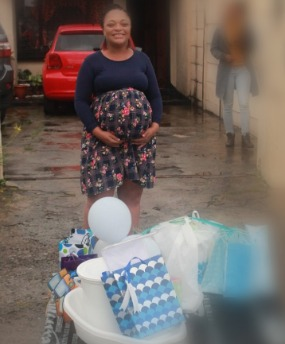Watch Mom To Be In Lockdown Gets Surprise Drive By Baby Shower