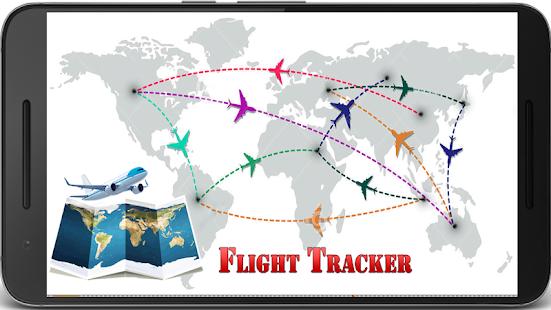 Interactive World Map Live Flight Tracker