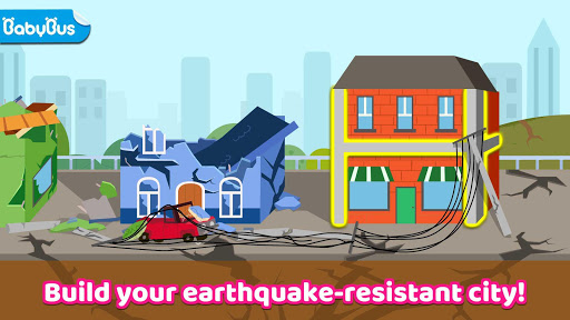 Baby Panda's Earthquake-resistant Building apktram screenshots 6
