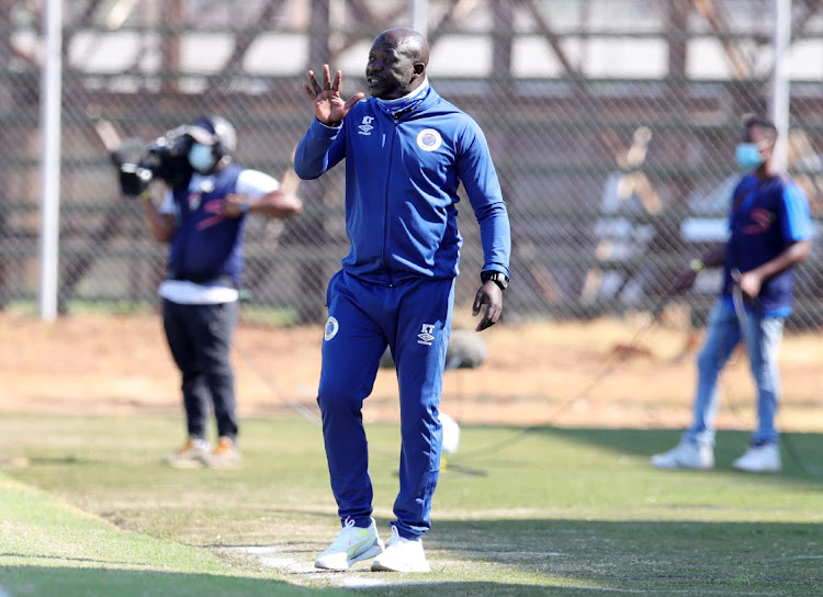Kaitano Tembo, coach of Supersport United.