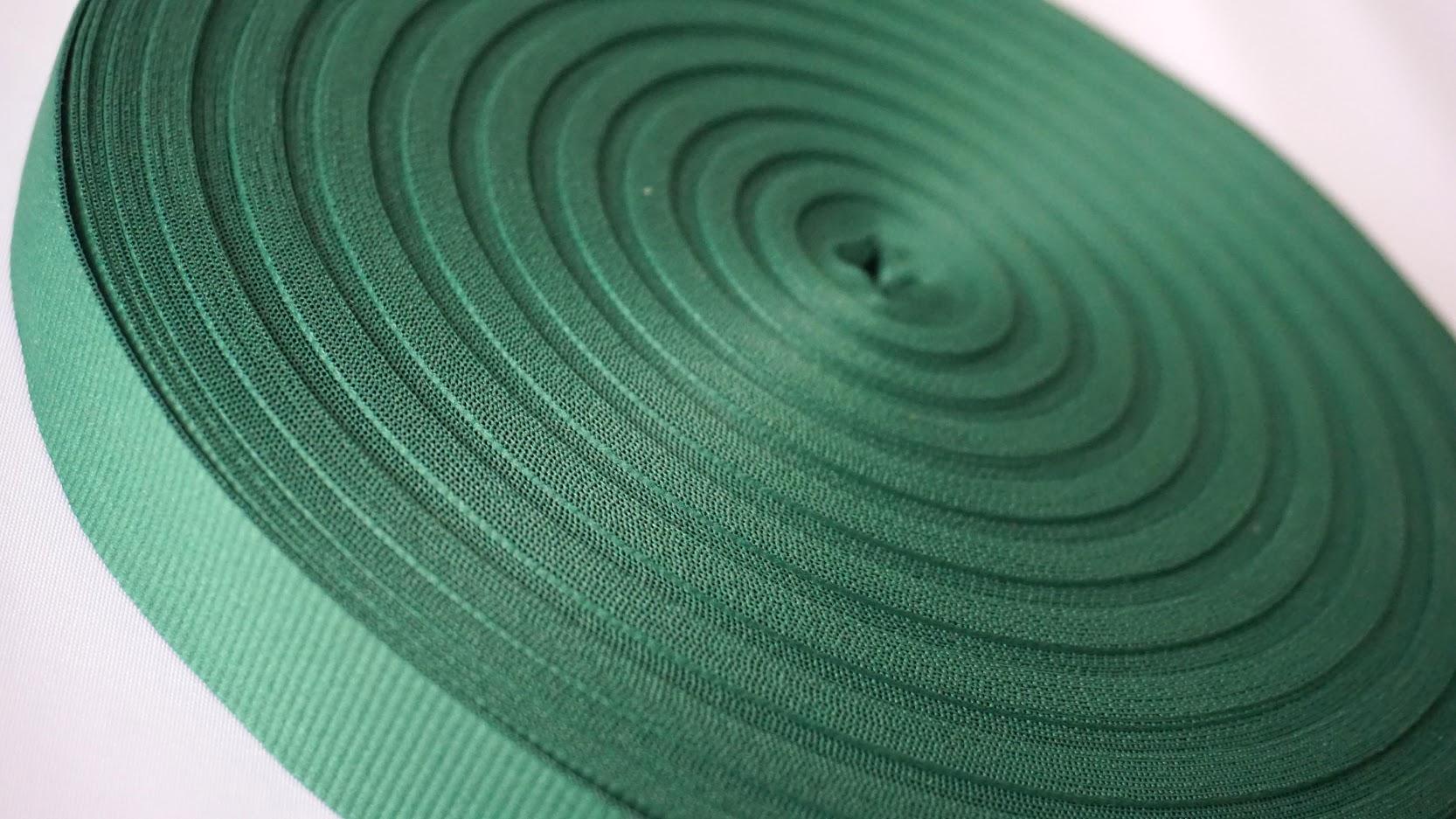 Modrozelena rips traka. Izrada svih vrsta po željenoj dimenziji i boji.