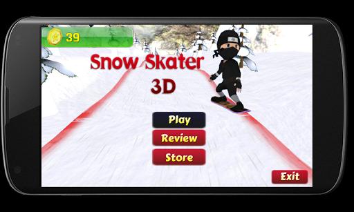 SNOW SKATING 3D