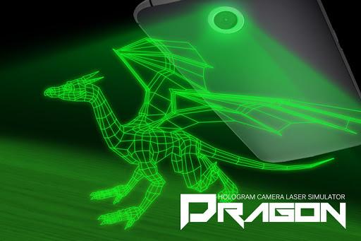 Dragon hologram laser camera