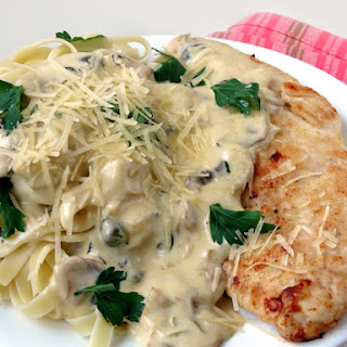 Chicken Scallopini With Mushrooms