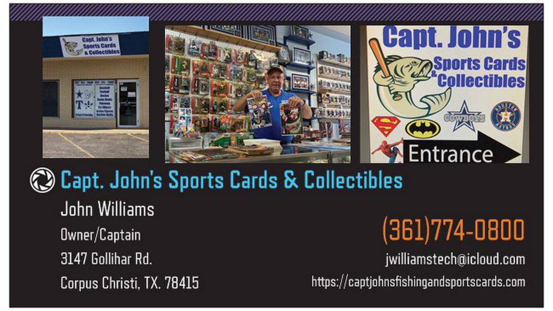 Capt Johns Sports Cards And Collectibles Collectibles