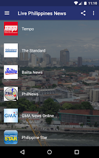 Live Philippines News - náhled