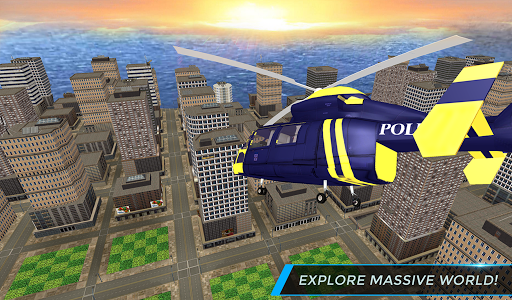 Real City Police Helicopter Games: Rescue Missions 4.0 screenshots 12