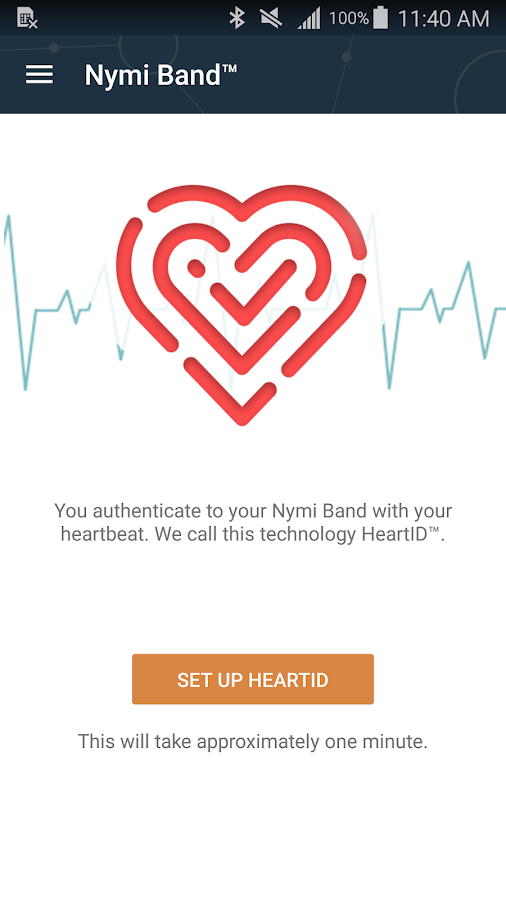 Nymi Band- screenshot