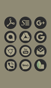 Shadowy Oreo Icon Pack Screenshot
