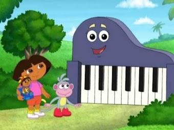 Dora et le clown musical
