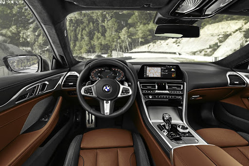 The interior gets more tech than any other BMW so far. Picture: BMW