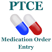 PTCE Medication Order Entry Flashcard 2017