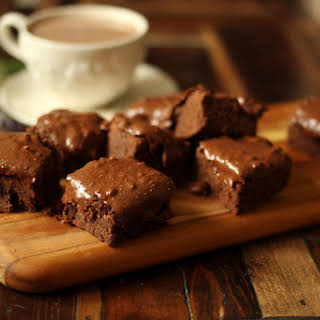 Low Carb Zucchini Brownies.