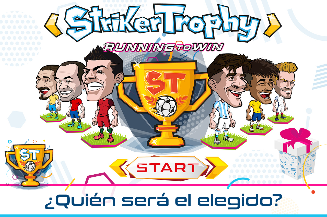 Striker Trophy: running to win: captura de pantalla