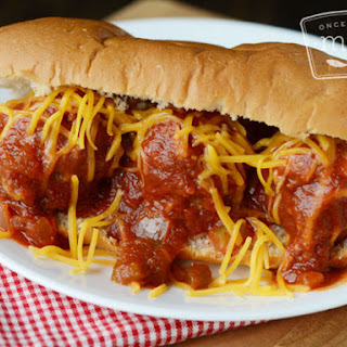 Slow Cooker Cheeseburger Meatball Sandwiches
