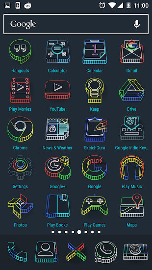 Wireframe 3D Icon Pack- screenshot thumbnail