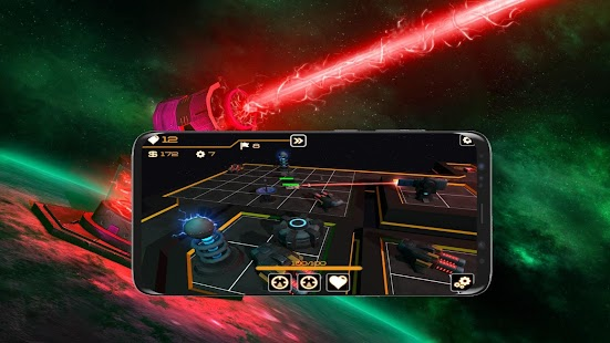 Space Rush Game : Galaxy Defender HD Screenshot
