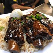 Adobo Pork Ribs Silog