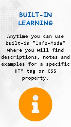 HTML CSS Live Code Editor & Learning screenshot 5