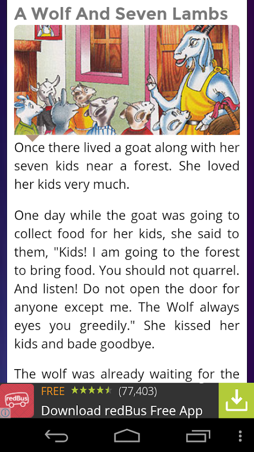 Bedtime Stories for Kids- screenshot