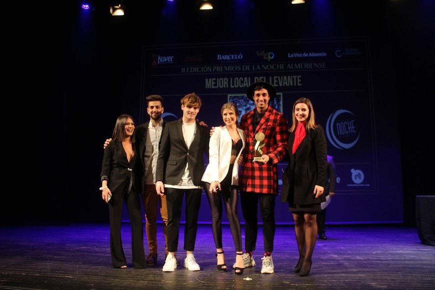 Galardonados en los Premios de la Noche Almeriense.