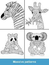 Coloring pages:Animals Mandala - screenshot thumbnail 13