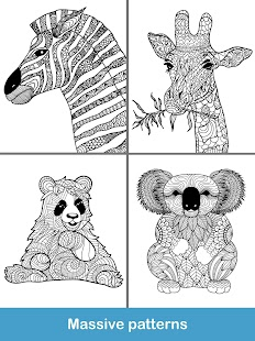 2018 For Animals Coloring Books Screenshot Thumbnail