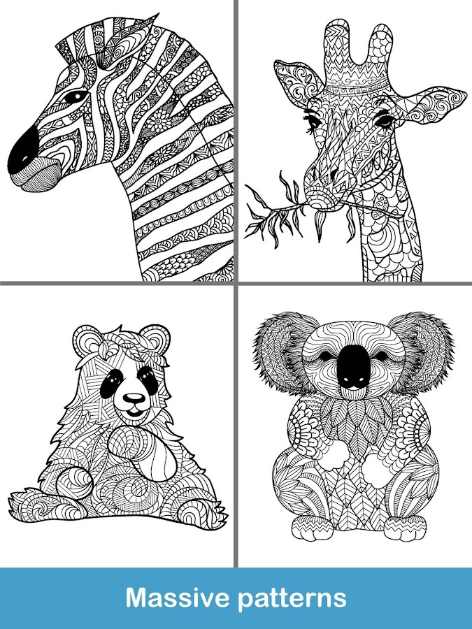 2018 For Animals Coloring Books