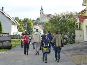 Photo: Niederhollabrun ist schon die 3. Station und die große Pause