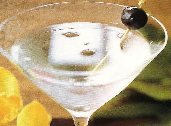 Lemon Rum Martini