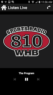 Sports Radio 810 WHB- screenshot thumbnail